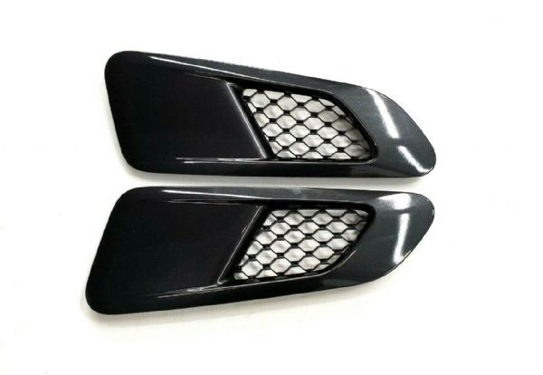 Genuine Brand New Jaguar F-Type Supercharged Bonnet Vents In Stratus Grey